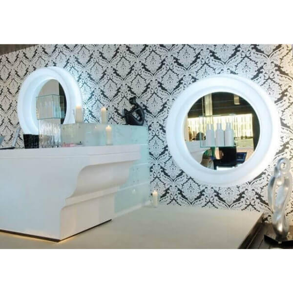 Grand Miroir Lumineux Design Par Slide