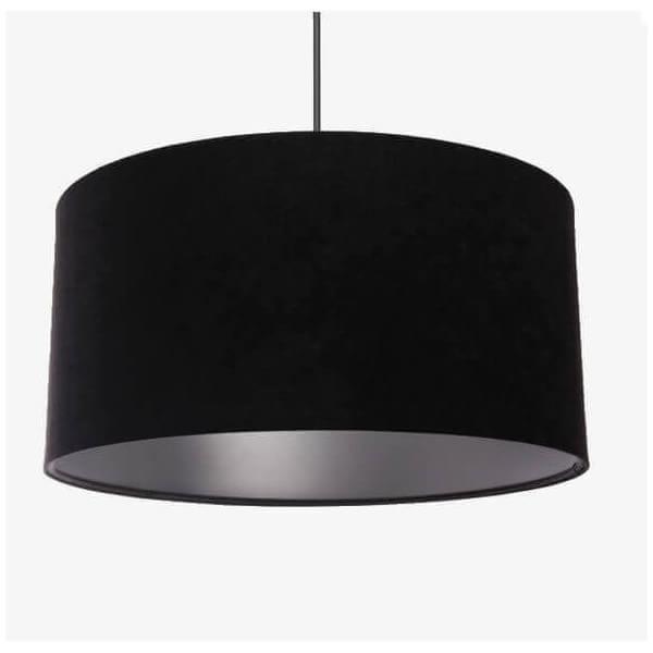suspension design or et noir pour int rieur moderne abat jour contemporain et moderne en tissus. Black Bedroom Furniture Sets. Home Design Ideas