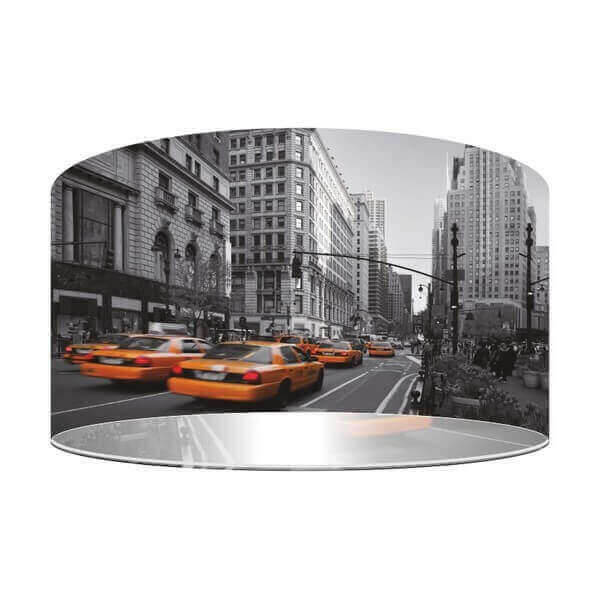 Suspension street pour une decoration originale dans une chambre ados new york et ses taxis jaune - Lustre suspension new york ...