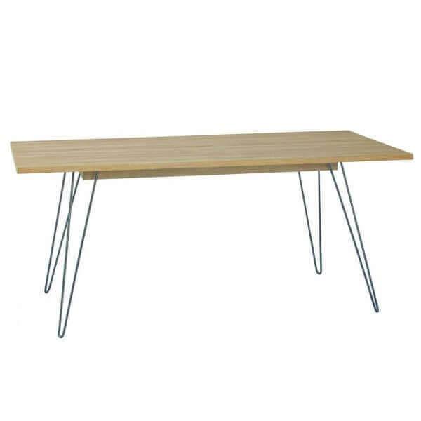 Tables Repas Design Bois Acier Metal Beton Mathi Design