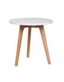 Table danish marbre