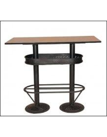 Table haute industrielle 120