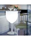Table haute lumineuse Vin