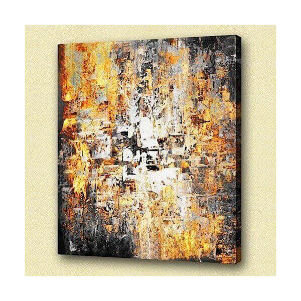 Abstract oil painting Cendror