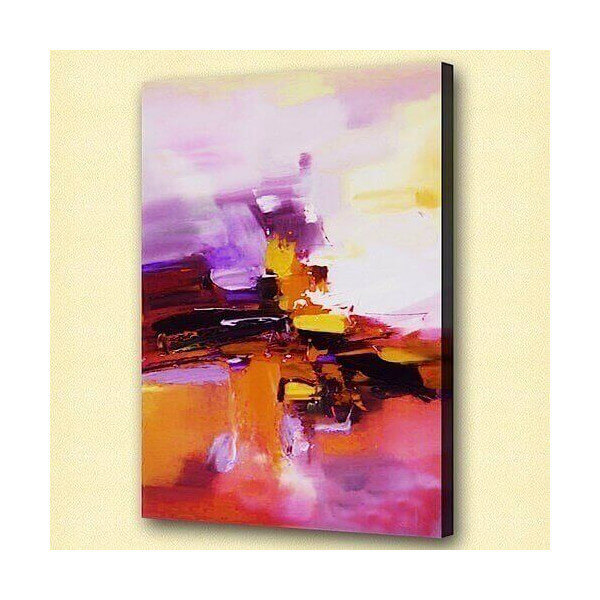 Abstract oil painting Jazz