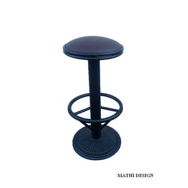 Ensemble table haute industriel bistro et 4 tabourets - Tabourets de bar industriel ...