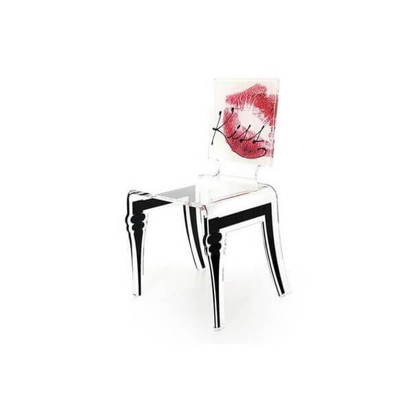 acrila chaise transparente graph acrila chaises design originale en acrylique transparent. Black Bedroom Furniture Sets. Home Design Ideas