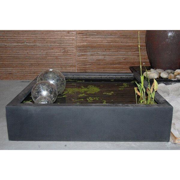 Bassin b ton design zen mathidesign vente en ligne for Bassin exterieur zen