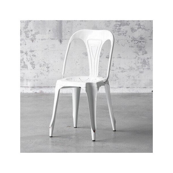 White Multipl's chair