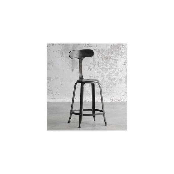 tabouret de bar industriel pas cher. Black Bedroom Furniture Sets. Home Design Ideas