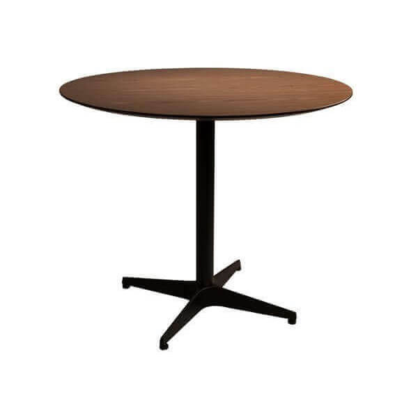 Table repas ronde plateau bois for Table repas ronde