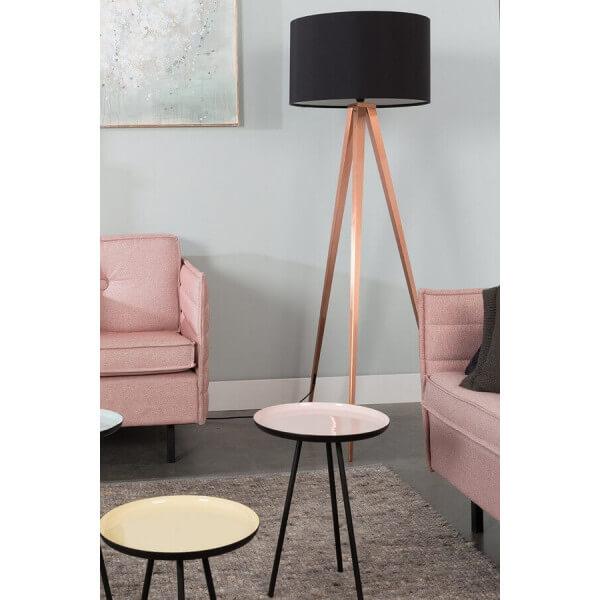 zuiver lampadaire tr pieds cuivre. Black Bedroom Furniture Sets. Home Design Ideas