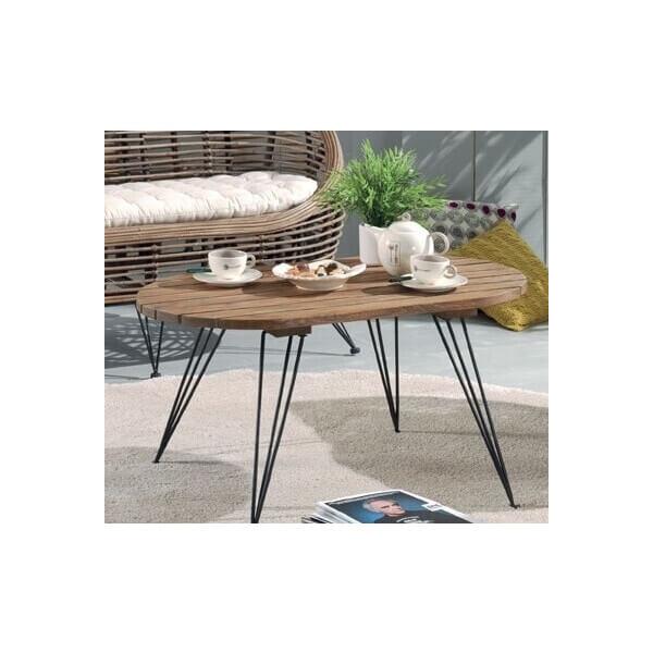 Table basse bois - Table basse peinte ...