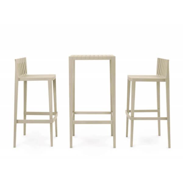 Ensemble table haute Spritz Vondom