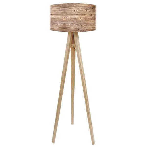 Lampadaire moderne en bois mathi design for Lampadaires modernes