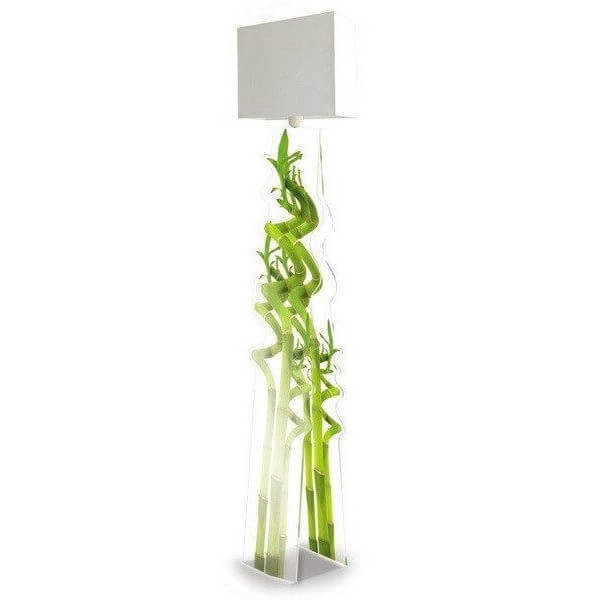 lampadaire design bambou acrila luminaire acrylique en direct de l 39 usine acrila. Black Bedroom Furniture Sets. Home Design Ideas