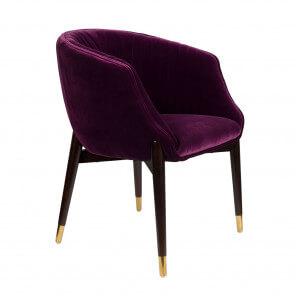 Purple Dolly Armchair