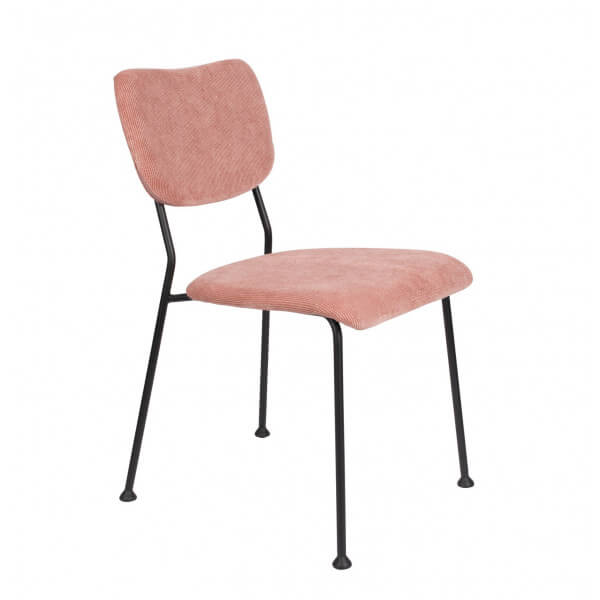Chaise Benson Zuiver rose
