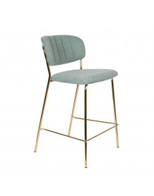 Clear green Bellagio Bar stool