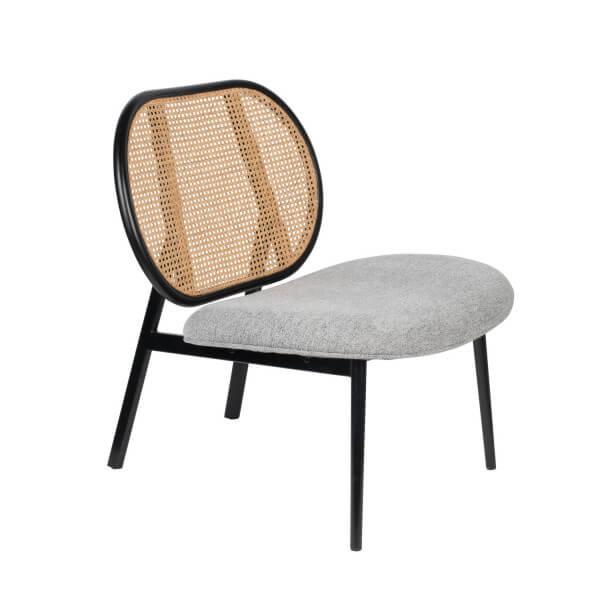 Grey Lounge chair Spike