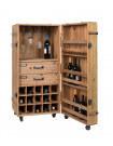 LICO - Wooden bar storage by Dutchbone