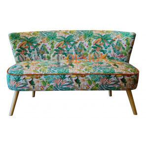 2 seater Sofa Cactus-fabric