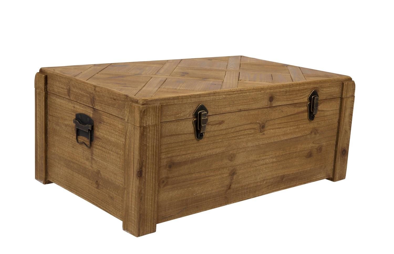 Malle Comme Table Basse malle rangement bois