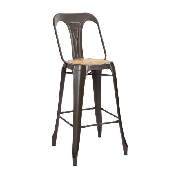 Industrial bar chair Nevada