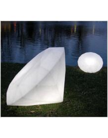 Jewel lamp slide diamond
