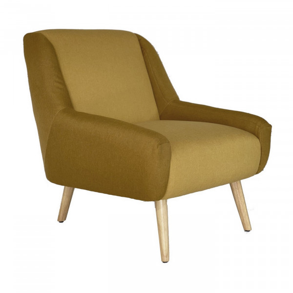 Ocher arm chair Floride