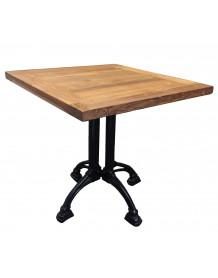 Table brasserie bois massif
