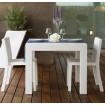 White square dining table Vondom