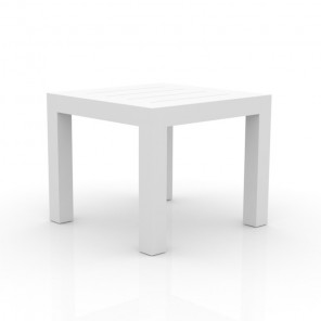 White square table Jut by Vondom