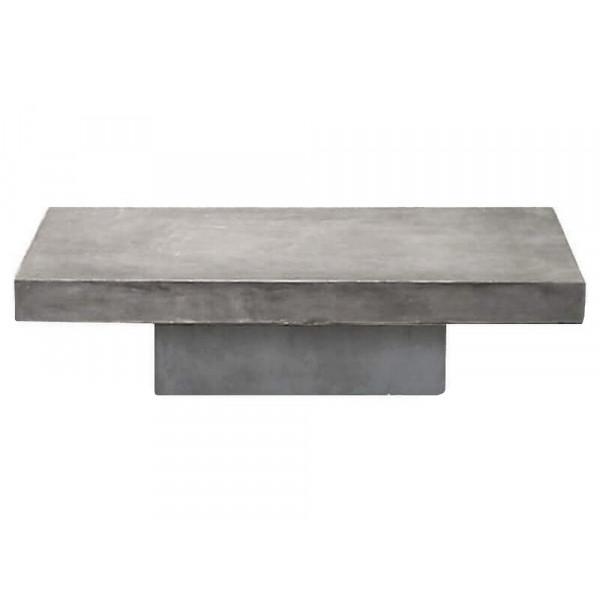 Table basse béton 140