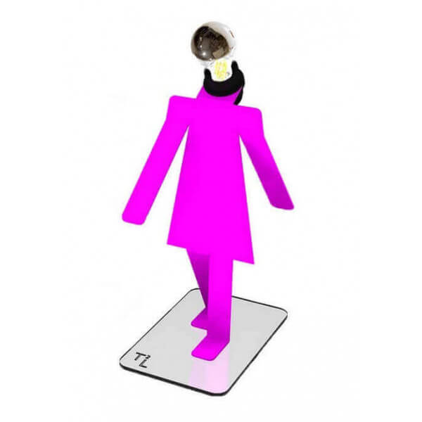 Girl Moonwalk lamps