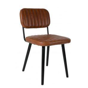 JEKA - Comfortable brown chair