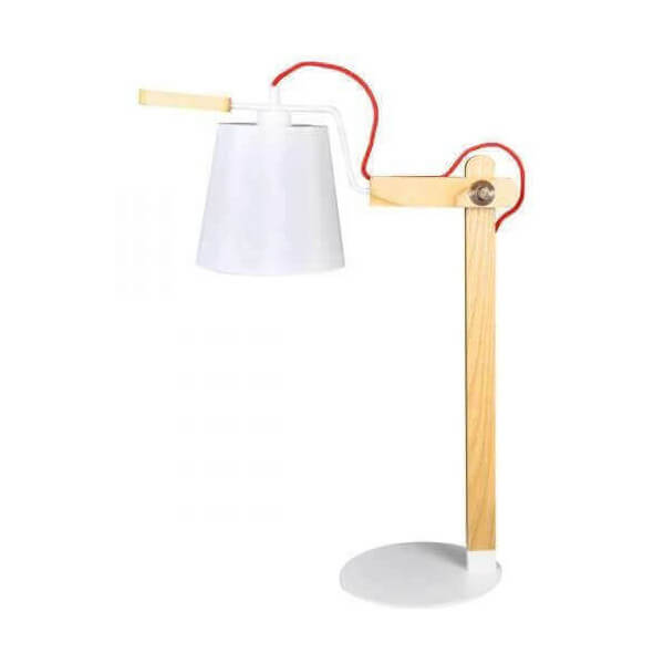 Oak design lamp