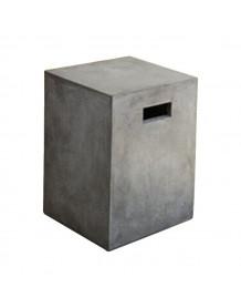 Tabouret Cube béton 4941