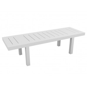 Table Jut 280 cm blanc