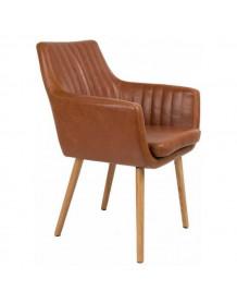 chaise-pike-marron-dutchbone