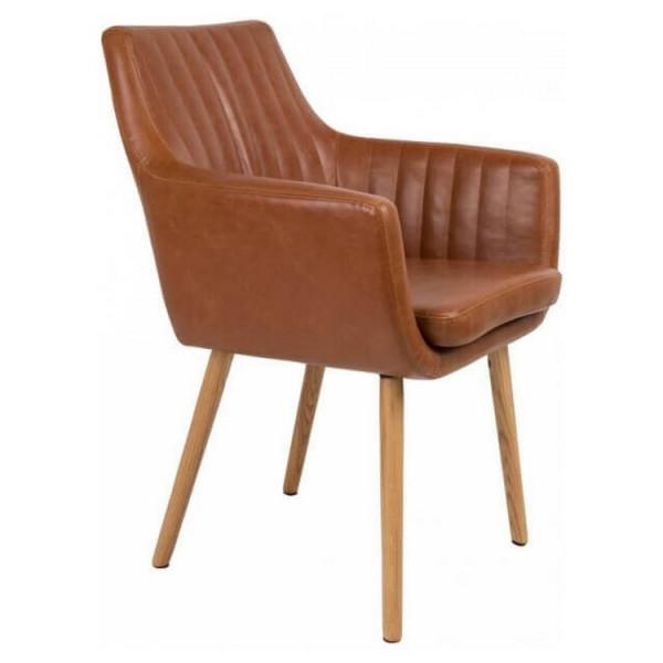 Cognac Pike chair