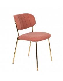 BELLAGIO - Chaise de repas rose