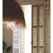 PALMIER - Abat-jour en fibres de palmier