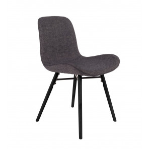 CURVE - Dark grey design chair