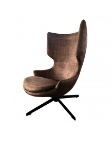 Torini - brown design armchair