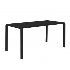 VONDEL - Black garden table