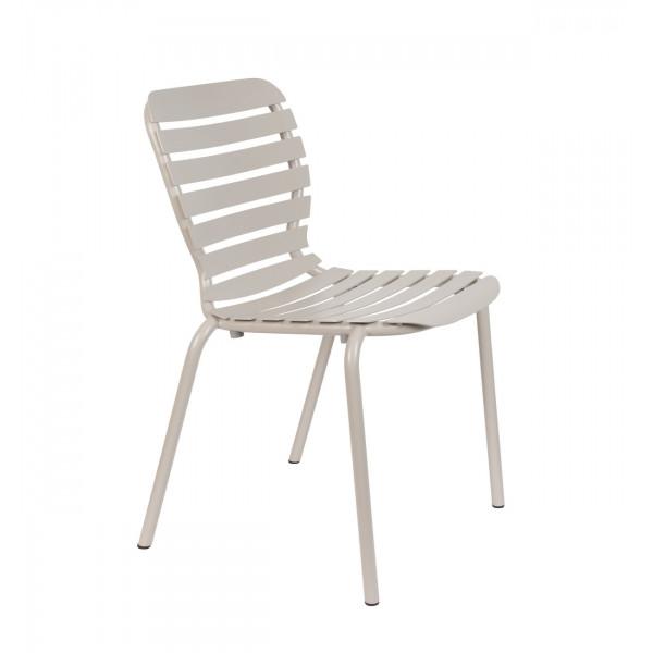 VONDEL - Chaise de jardin Argile