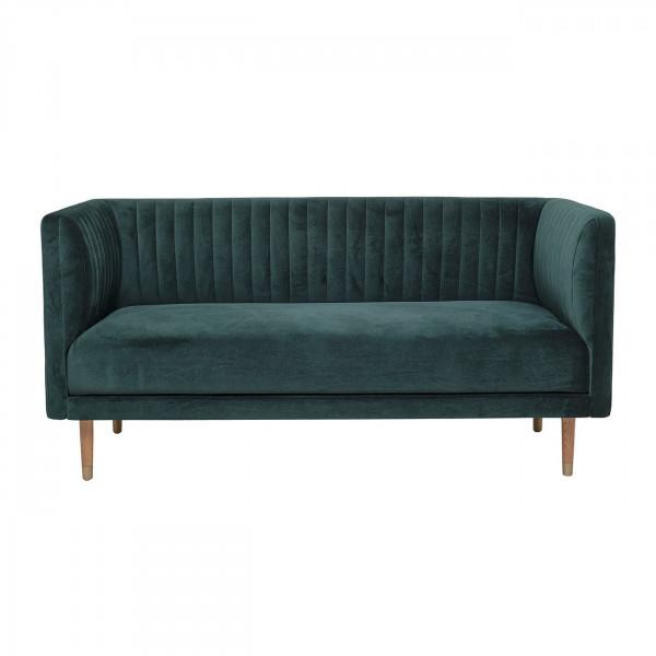 NOLAN - Velvet sofa