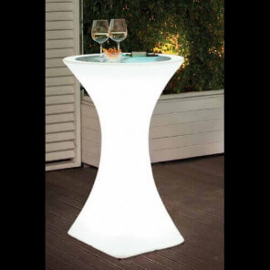 CLUB - Heigh luminous bar table