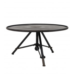 Table basse brok acier dutchbone